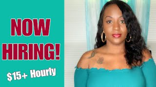 5 Work From Home Jobs Paying Over $15 Hourly   2018/2019