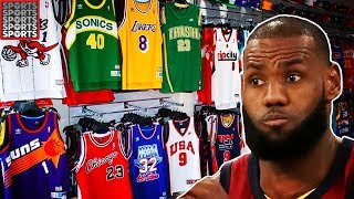What LeBron James Looks Like in EVERY NBA Uniform