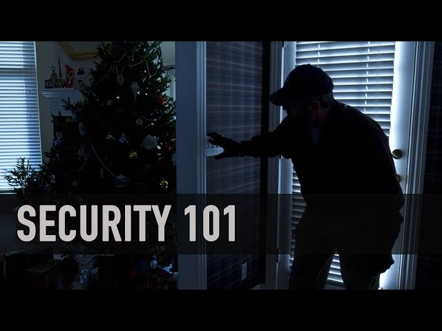 Security 101: 4 Home Security Tips