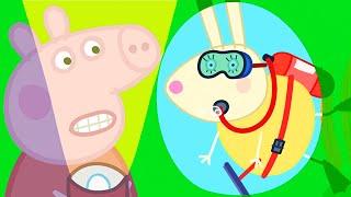 Peppa Pig Official Channel 🌟 Busy Miss Rabbit  🎵 Peppa Pig Songs + More Nursery Rhymes & Kids Songs