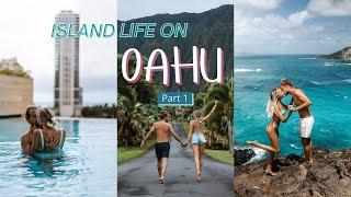 We Spent 1 Month On Oahu | Hawaii Vlog Pt. 1