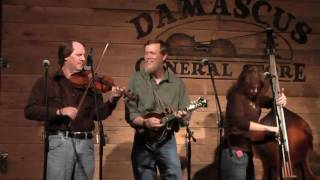 """""""Red Apple Rag"""" fiddle music- Appalachian Trail Band at Damascus General Store 27 March 2010"""