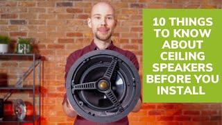 Top 10 Ceiling Speaker Installation Tips