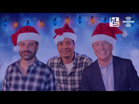 Hear Jimmy Kimmel, Jimmy Fallon, and Stephen Colbert Sing a Christmas Carol Together