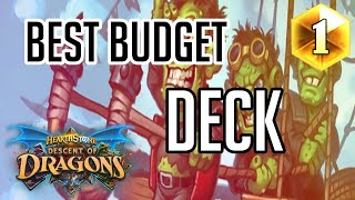Best Budget deck in the Game!!! | How to Play Face Hunter | (Descent of Dragons)