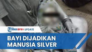 Viral Foto Bayi 10 Bulan Dijadikan Manusia Silver di Tangsel, Akan Ditindak Tegas oleh Satpol PP