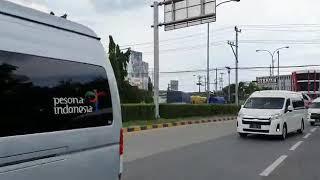 Convoy Hiace Boavistarentcar di Semarang – Kampanye Tidak Takut Virus Corona