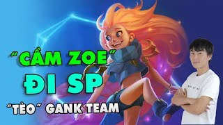 Throwthi cầm Zoe đi SP gank team cực gắt | THROWTHI