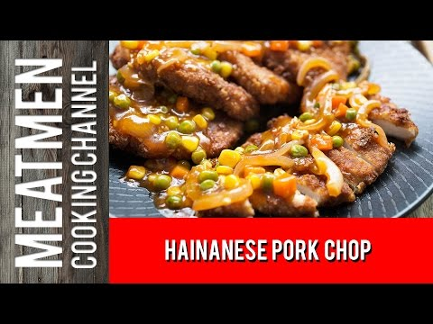 Video Hainanese Pork Chop - 海南炸猪排