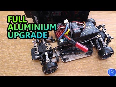 How to fix and install aluminium suspension upgrade kit