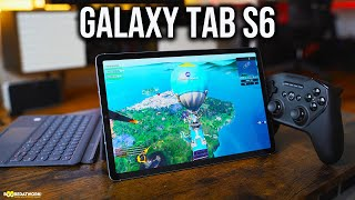 Samsung Galaxy Tab S6 Gaming Review - PUBG Mobile, FORTNITE, COD