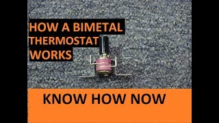 How Does a Bimetal Thermostat Work?