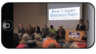 Democratic Primary Candidates for Texas Governor Debate in San Antonio