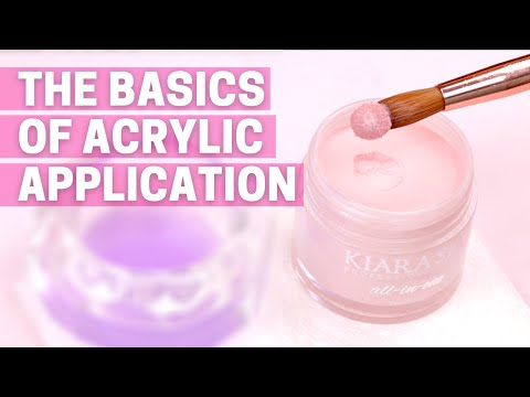 The Basics of Acrylic Nails for Beginners! Acrylic 101: How to start doing acrylic nails!