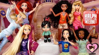 Disney Princess Dolls from Ralph 2 Breaks the Internet Toys