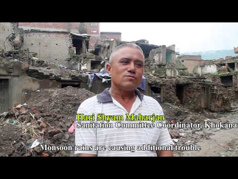 Khokana Earthquake Debris Removal Initiative