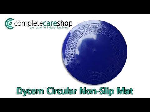 Dycem Circular Non Slip Mat Demo