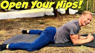Best DEEP Hip Stretches For Wild Flexibility & Mobility - Beginner To Advanced Hip Opening Exercises