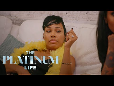 La'Myia Fights With Shantel at Nazanin's Bachelorette Party | The Platinum Life | E!