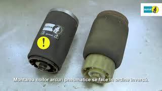 BILSTEIN: Instrucțiuni instalare pentru suspensia pneumatică BILSTEIN B3, punte spate – BMW X5