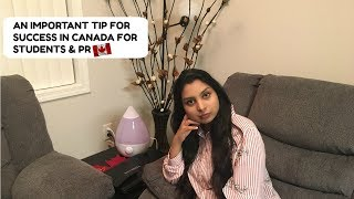 An important tip for success for students and PR| School Apply| Canada Vlogs