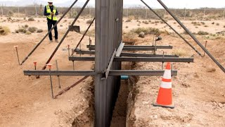 Construction for new Texas border wall begins