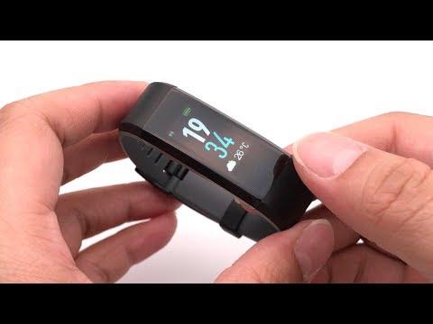 Original ID115Plus Color HR Smart Bracelet Color Display Sports Activity Tracker Heart Rate