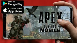 APEX LEGENDS MOBILE НА ТЕЛЕФОН ANDROID, IOS! КОГДА ВЫЙДЕТ?