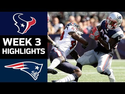 Texans vs. Patriots | NFL Week 3 Game Highlights