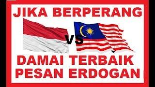 Jika Indonesia vs Malaysia berperang ,  ini Analisa Akibat dan Dampaknya.
