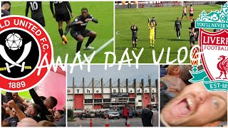 GINI WINS IT!! SHEFFIELD UNITED 0-1 LIVERPOOL | AWAY DAY  VLOG