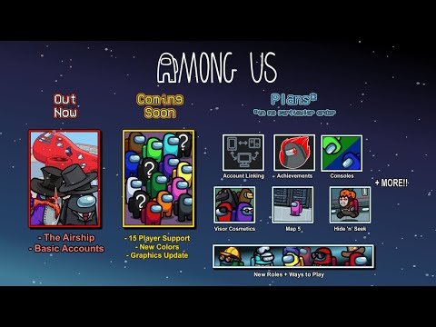Roadmap : Our plans for the game! de Among Us