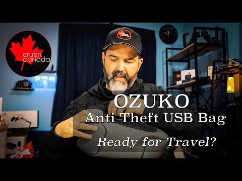 OZUKO Anti Theft Waterproof Chest Bag | Great Day Bag?