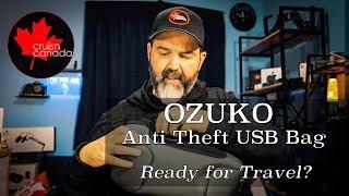 OZUKO Anti Theft Waterproof Chest Bag | Great Day Bag?