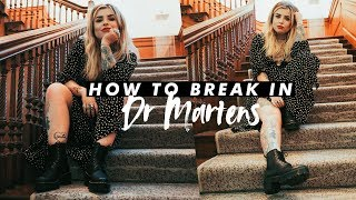 Gambar cover How to Break in Dr Martens (and style them)