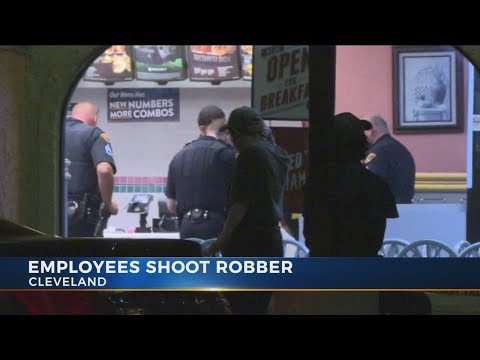 Police: Ohio Taco Bell employees fatally shoot armed robber