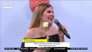 """Filipa Sousa – """"Há lá coisa bem melhor"""" (Porto Canal – Alô Ricardo)"""