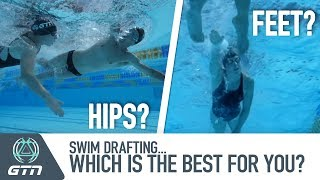 What Is The Best Way To Draft Whilst Swimming?
