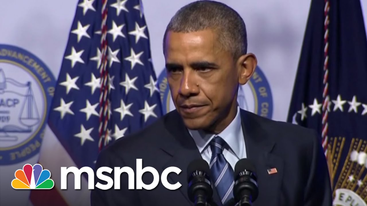 Obama: Americans In Prison Are Still Americans | Rachel Maddow | MSNBC thumbnail