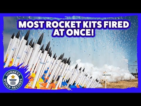 World Record Model Rocket Launch