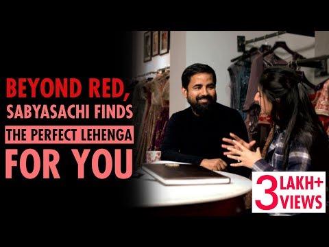 Sabyasachi Mukherjee Helps Brides Pick The Perfect Colour For Their Lehenga