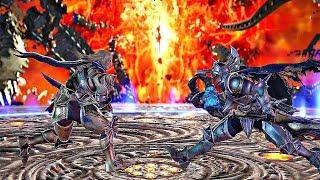 Soul Calibur 6 - Nightmare vs Siegfried Gameplay SOUL EDGE & Nightmare
