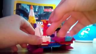 Радужный замок из Лего. Обзор.