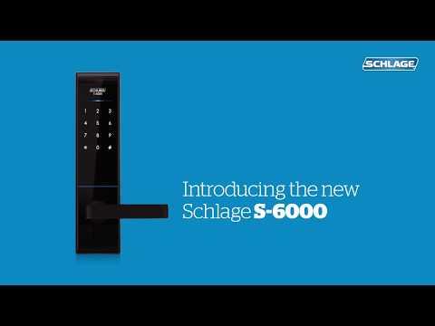 Khóa vân tay Mỹ 3 chức năng Schlage S-6000
