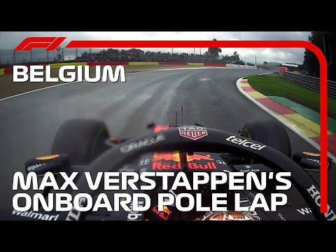 雨のスパを最速で走ったマックス・フェルスタッペンのオンボード映像 F1 第12戦ベルギーGP(スパ・フランコルシャン)予選タイムアタック