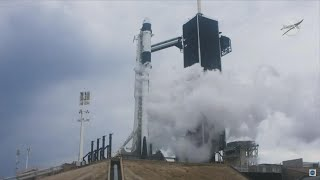 SpaceX's 1st Manned Launch Aborted Minutes Before Liftoff