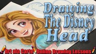 Drawing That Disney Head