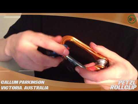 Petzl Rollclip Non-Locking Carabiner – TreeStuff.com Customer Callum Parkinson's Review In The Field