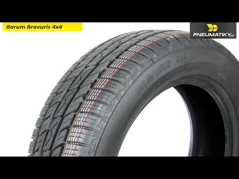 Youtube Barum Bravuris 4X4 235/65 R17 108 V XL FR Letní
