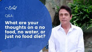 Q&A with Dr Lodi – Water Diets